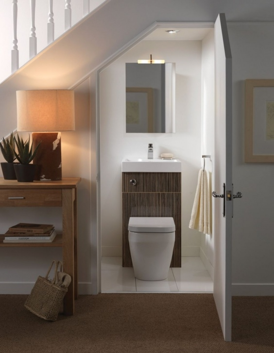 Gallery Of Under Stair Toilet Design Picture 555
