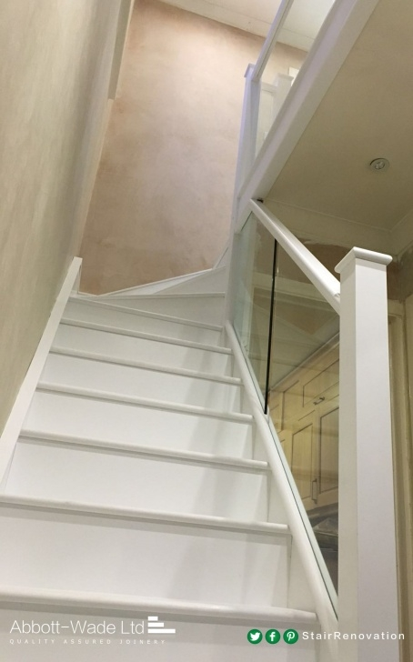Gallery Of White And Glass Staircase Image 988