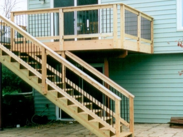 Gallery Of Wood Deck Stairs Designs Photo 462
