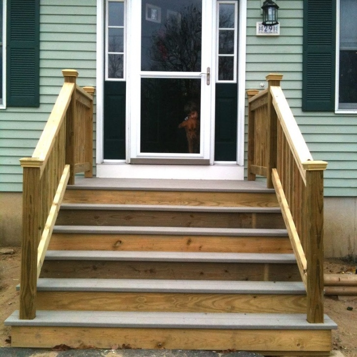 Gallery Of Wooden Stairs For Mobile Home Picture 164