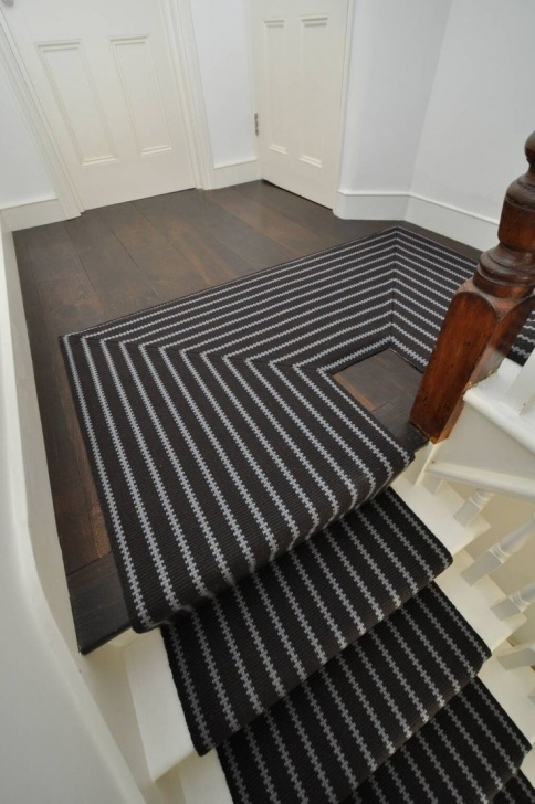 Good Black And White Stair Runners Photo 102