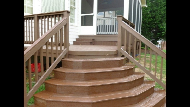 Good Building Half Round Wood Steps Picture 223