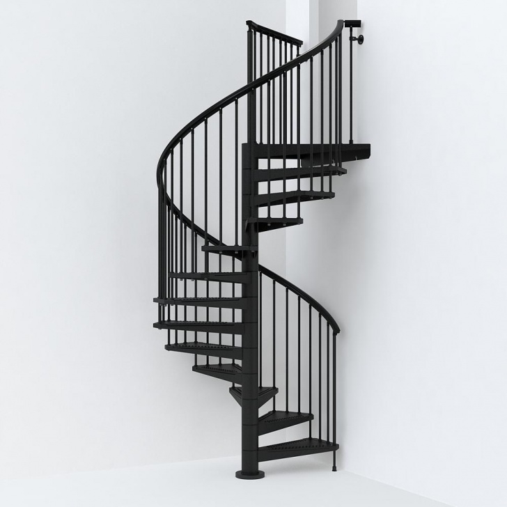 Good Exterior Spiral Staircase Picture 081