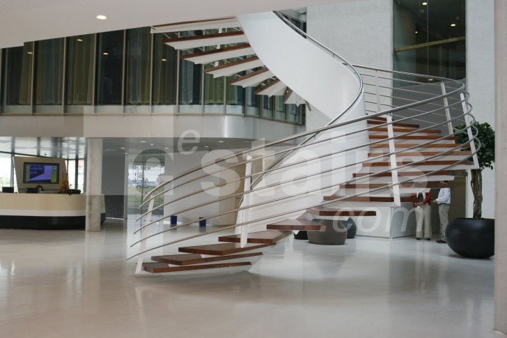 Good Floating Spiral Staircase Photo 125