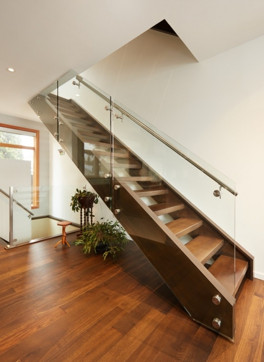 Good Oak Handrail For Glass Photo 795