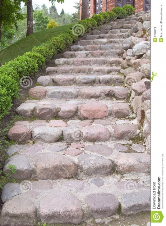 Good Outdoor Stone Stairs Picture 051