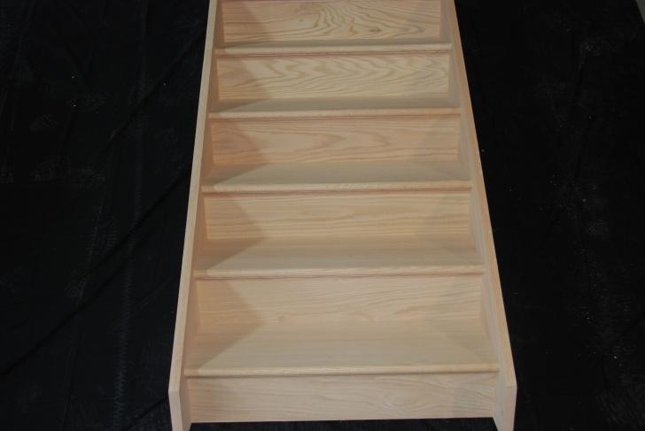 Good Prefabricated Wood Stairs Photo 360