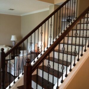 Rod Iron Spindles For Staircase