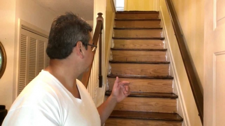 Good Sanding And Staining Stairs Image 733