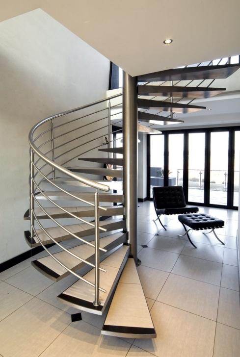 Good Spiral Railing Design Photo 801