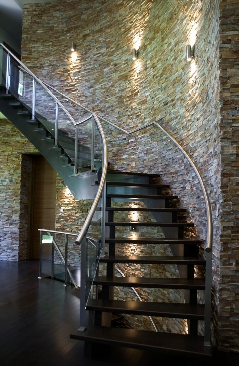 Good Staircase Exterior Wall Design Picture 670