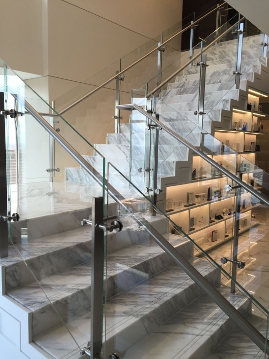 Good Steel Railing For Stairs With Glass Photo 623