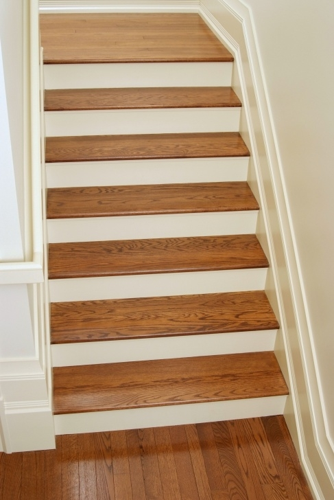 Good White Oak Stair Treads Photo 837