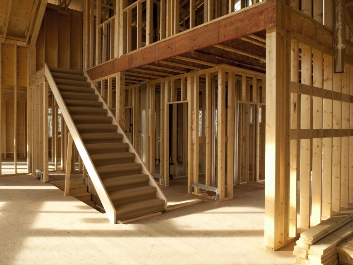Good Wood Stair Construction Picture 041