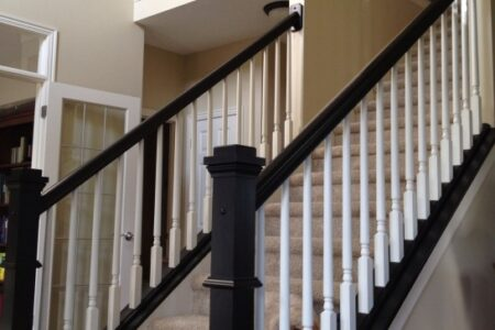 Black Stair Railing
