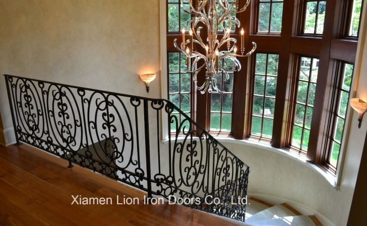 Gorgeous Cast Iron Staircase Image 169