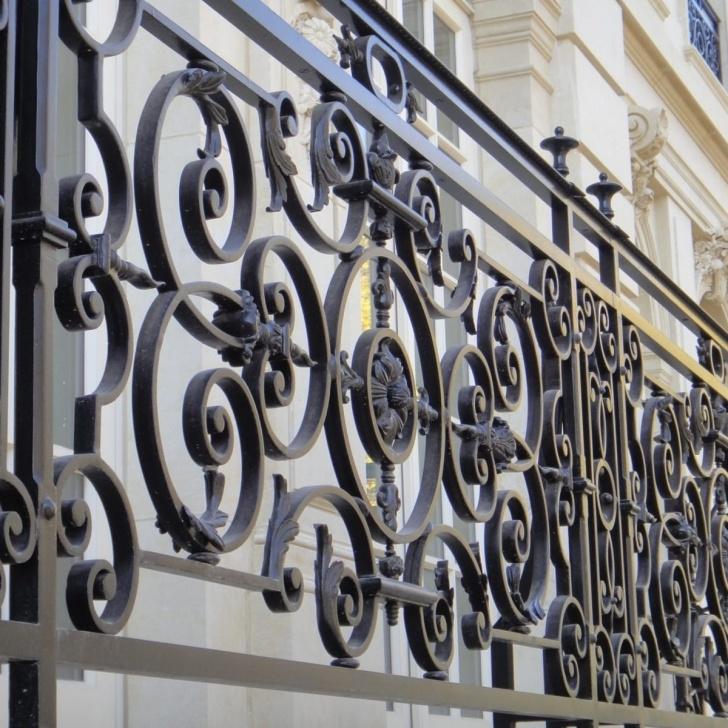 Gorgeous Decorative Metal Handrails Image 375