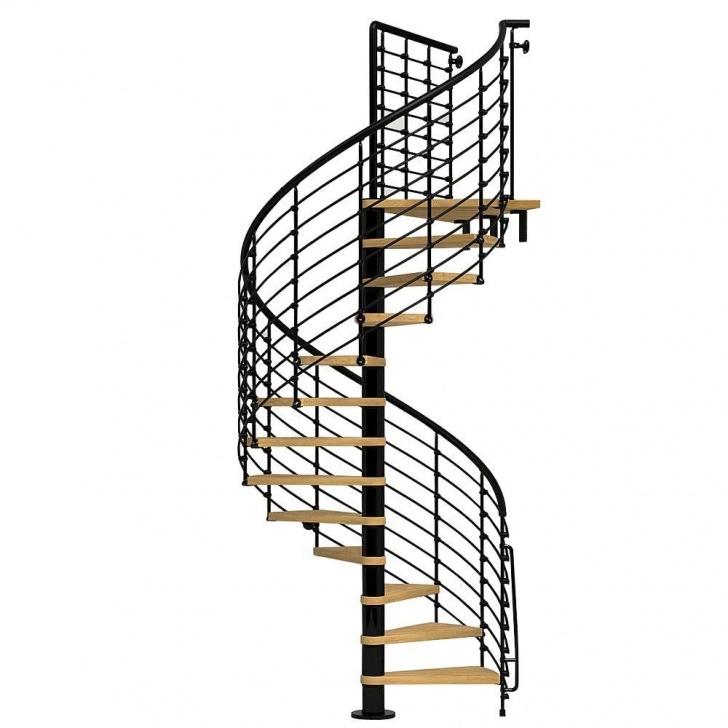 Gorgeous Exterior Spiral Staircase Image 490