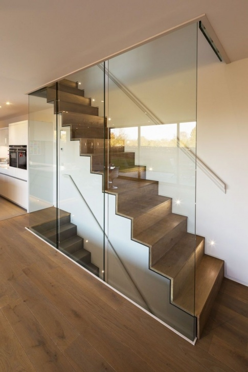 Gorgeous Glass Enclosed Staircase Image 656