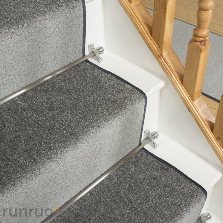 Gorgeous Gray Carpet On Stairs Picture 401
