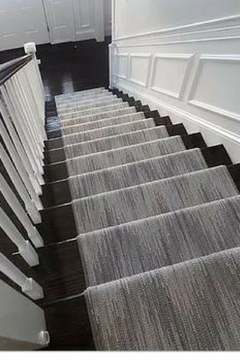 Gorgeous Grey Stair Runners Image 091