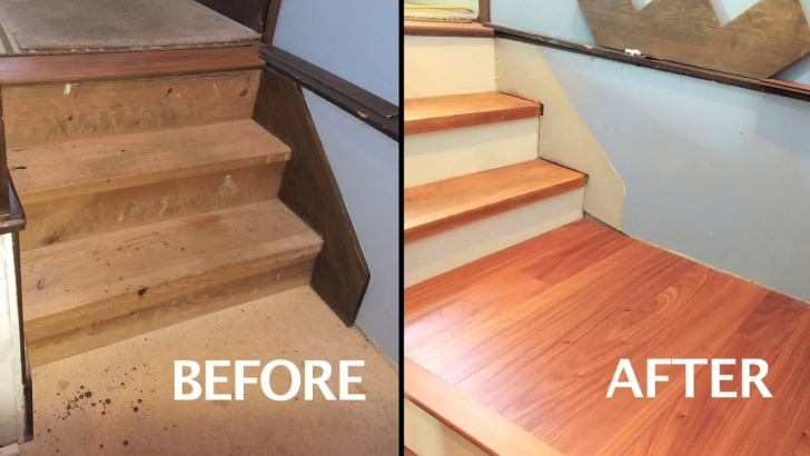 Gorgeous Installing Wood Floors On Stairs Photo 118