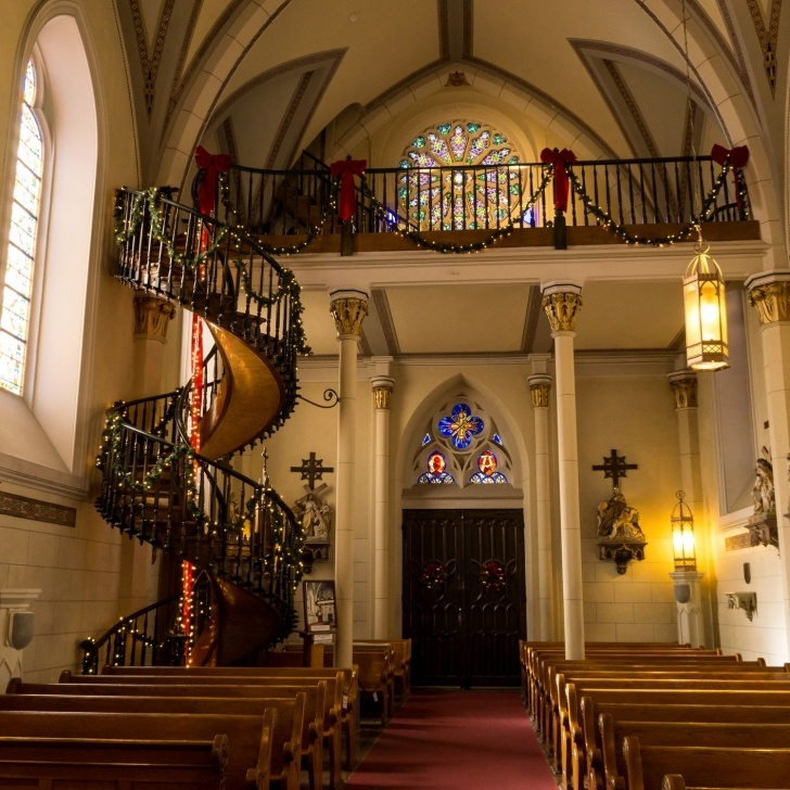 Gorgeous Loretto Chapel Staircase Wood Image 178
