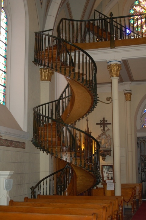 Gorgeous Loretto Chapel Staircase Wood Picture 573