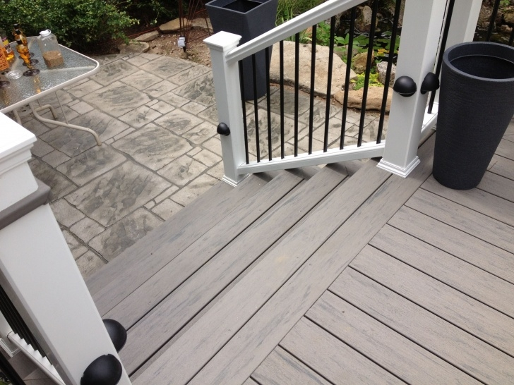 Gorgeous Railing For Concrete Patio Photo 631
