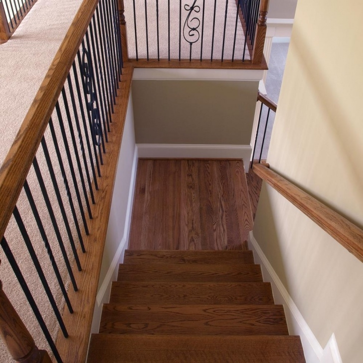 Gorgeous Red Oak Stairs Photo 266
