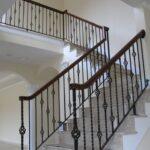 Gorgeous Rod Iron Stair Railing Photo 683
