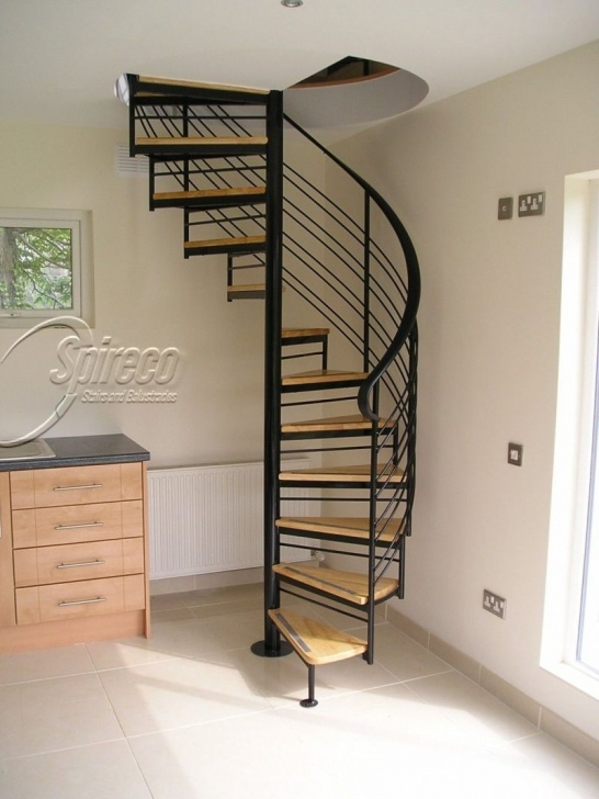 Gorgeous Spiral Staircase To Attic Picture 302