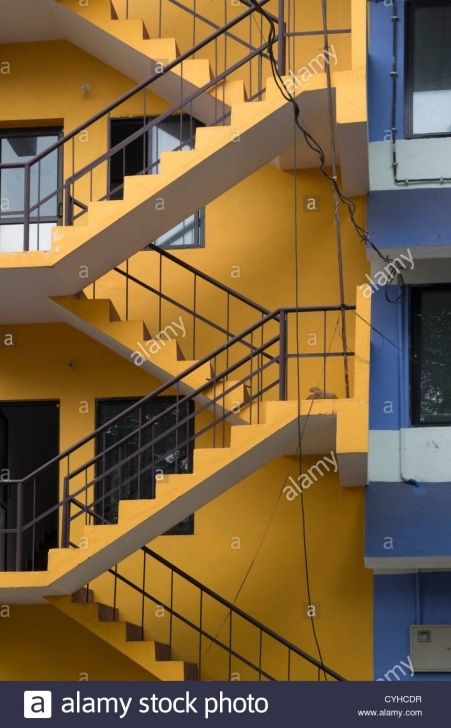 Gorgeous Stairs On Outside Of Building Picture 138