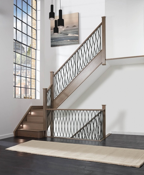 Gorgeous Steel Staircase Design Image 651