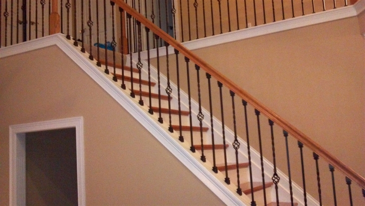 Gorgeous Wrought Iron Staircase Spindles Picture 946