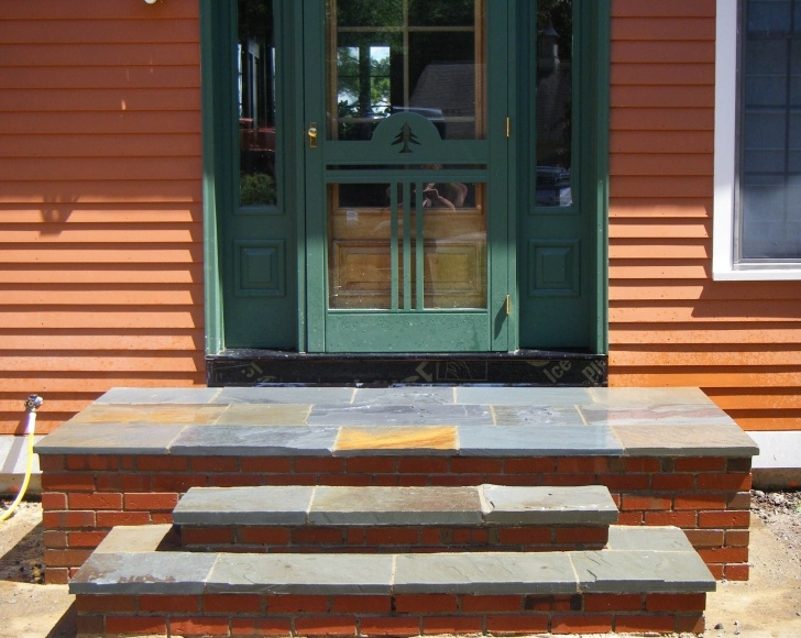 Great Brick Front Step Designs Photo 378