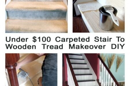Converting Carpeted Stairs To Wood