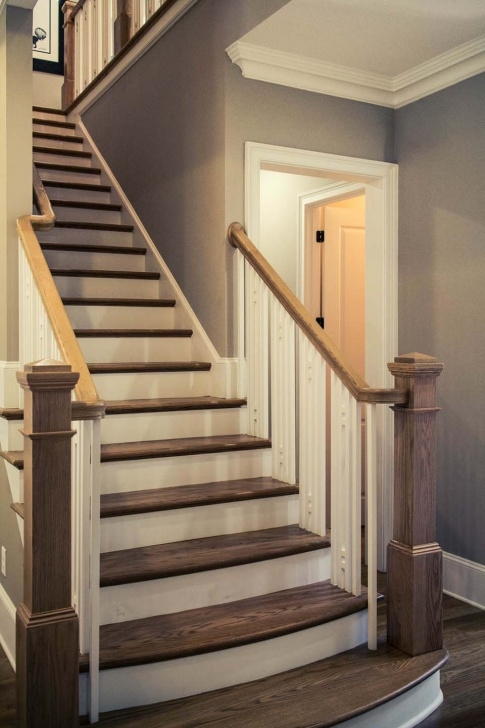 Great Craftsman Style Stair Railing Image 557