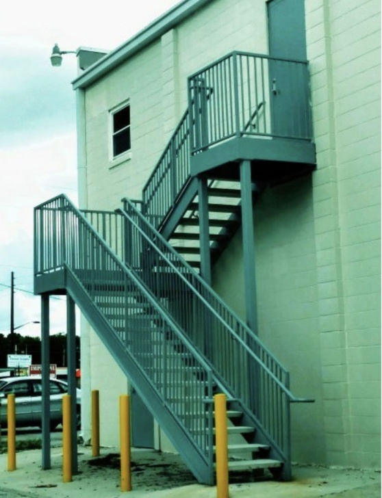 Great Exterior Metal Stairs Picture 222