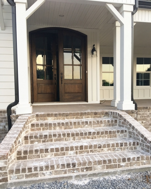 Great Ideas Brick Front Step Designs Image 554