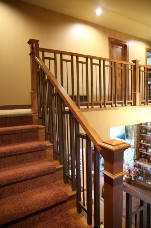 Great Ideas Craftsman Style Stair Railing Picture 263