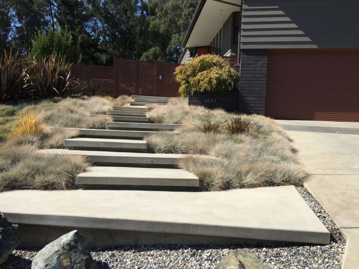 Great Ideas Floating Concrete Steps Designs Photo 773