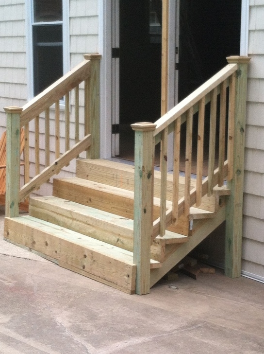 Great Ideas Front Porch Stair Railing Photo 858