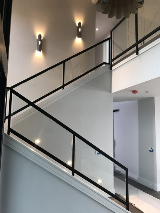 Great Ideas Glass Stair Railings Interior Photo 412