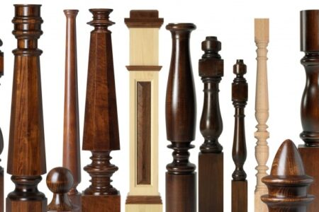 Large Wood Balusters