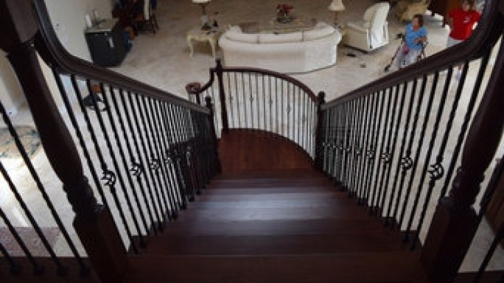 Great Ideas Outdoor Stair Railing Installers Near Me Image 069
