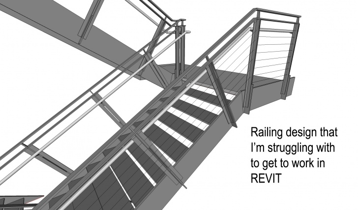 Great Ideas Revit Metal Stairs Picture 398
