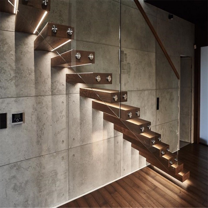 Great Ideas Steel Floating Stairs Picture 671