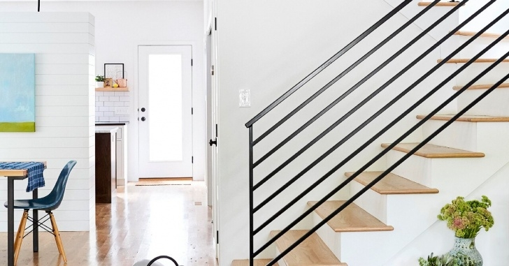 Great Ideas Wood And Metal Stair Railing Picture 616