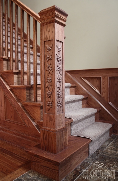 Great Ideas Wooden Staircase Pillar Designs Picture 324